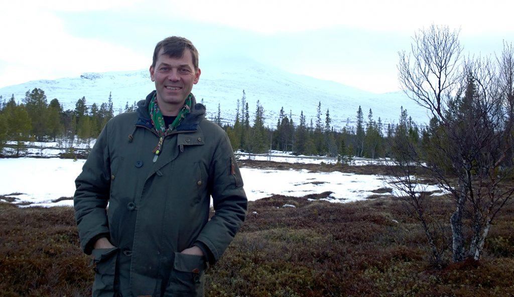 Jesper Wasling från Getvalen.