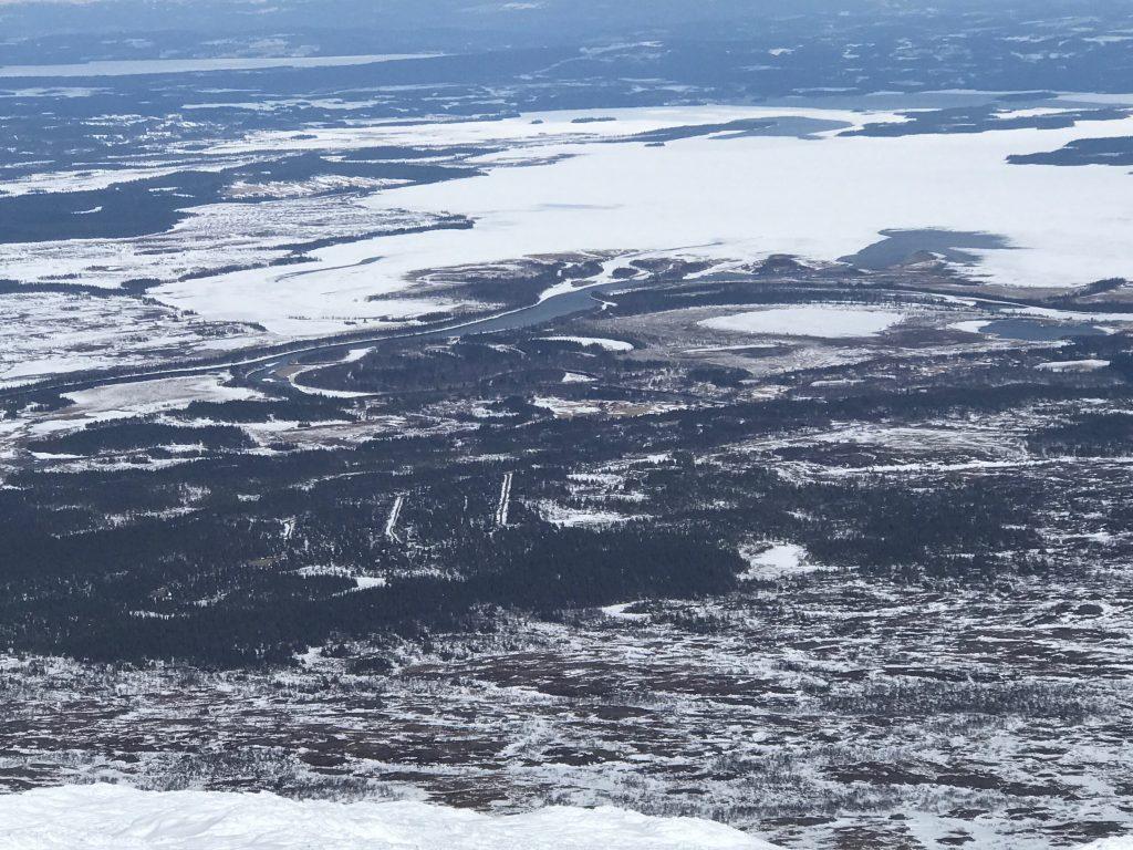 Utsikt fra Storsnasen